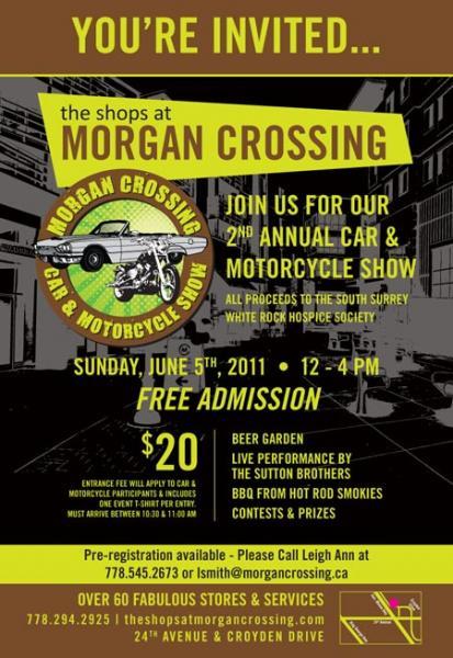 Morgan Crossing Car Show promotion